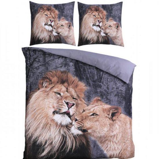 Lion love dekbedovertrek
