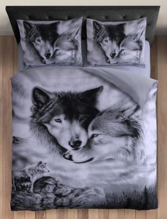 wolven love dekbedovertrek