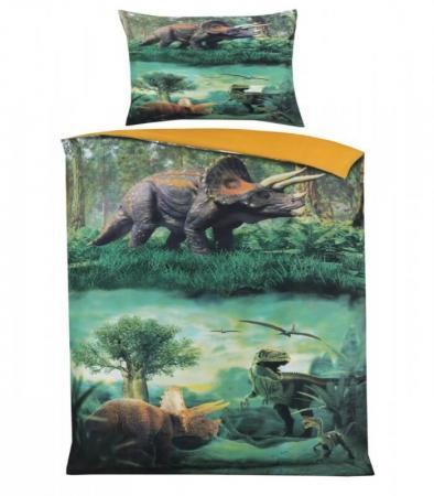 dekbedovertrek dinosaurus