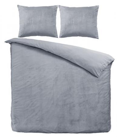 grijs dekbedovertrek
